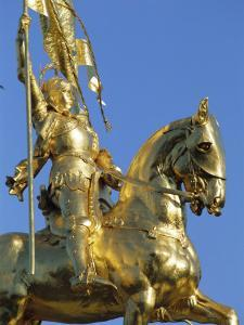 Equestrian Statue of Joan of Arc, French Quarter, New Orleans, Louisiana, USA by J P De Manne
