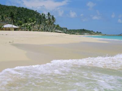 Johnson's Point Beach, South-West Coast, Antigua, West Indies, Caribbean by J P De Manne