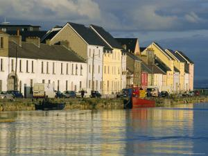 Long Walk View of Claddagh Quay, Galway Town, Co Galway, Ireland by J P De Manne
