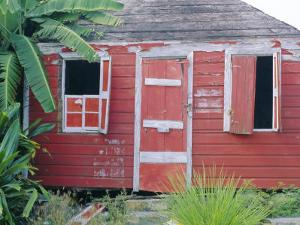 Old Chattel House, St. John's, Antigua, West Indies, Caribbean by J P De Manne