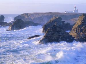 Pointe De Poulains View from Ster Vraz, Belle-Ile-En-Mer, Breton Islands, Morbihan, France by J P De Manne