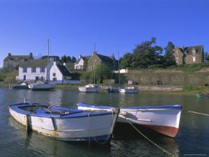Port of Lerio, Ile-Aux-Moines, Golfe Du Morbihan (Gulf of Morbihan), Brittany, France by J P De Manne