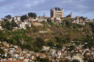 Queen's Palace, Rova of Antananarivo Upper City, Antananarivo City, Tananarive, Madagascar, Africa by J P De Manne
