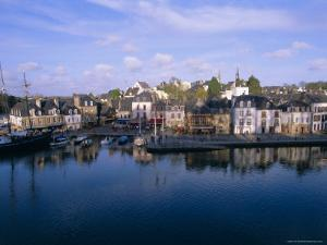 Waterfront and Port Area of Saint Goustan (St. Goustan), Town of Auray, Brittany, France by J P De Manne