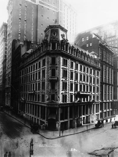 J.P. Morgan and Company Offices--Photographic Print