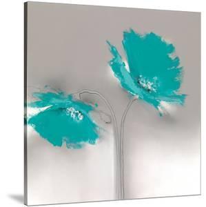 Aqua Platinum Petals II by J^P^ Prior