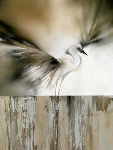 Moonlight Landing & the Egret by J^P^ Prior