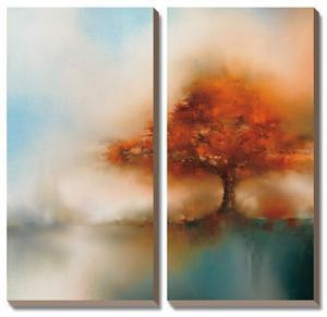Morning Mist & Maple I by J^P^ Prior