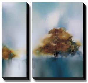 Old Oaks & Sea Mist by J^P^ Prior