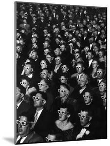 "3-D Movie Viewers during Opening Night of ""Bwana Devil"" by J. R. Eyerman"