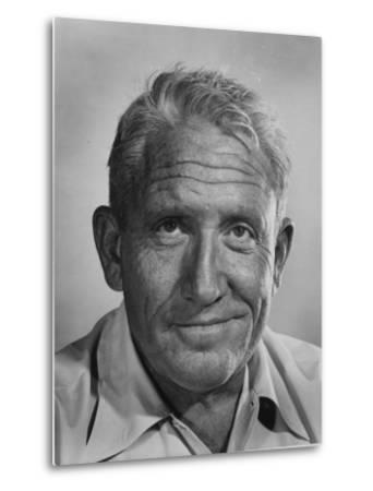 """Actor Spencer Tracy During Time of Filming """"Bad Day at Black Rock"""""""