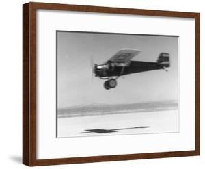An Airplane in Flight, Speed-Blurred by J. R. Eyerman