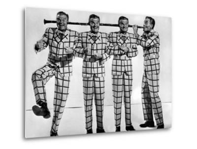 Comedian-Musician Spike Jones Posing for a Picture