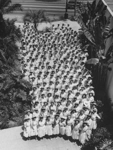 Democratic 'Golden Girls', Hostesses For Democratic National Convention Ready to Greet Delegates by J. R. Eyerman