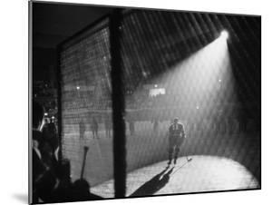 Hockey Game Being Held in the Spokane Colliseum by J. R. Eyerman