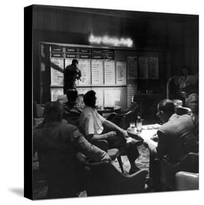 Horse Betting and Bookmakers Going on as a Gambling Option by J. R. Eyerman