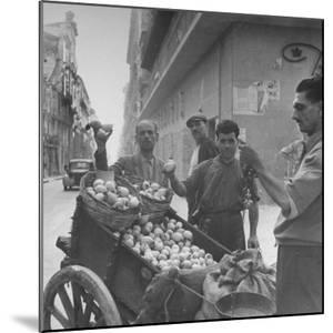Lemon Vendors by J. R. Eyerman