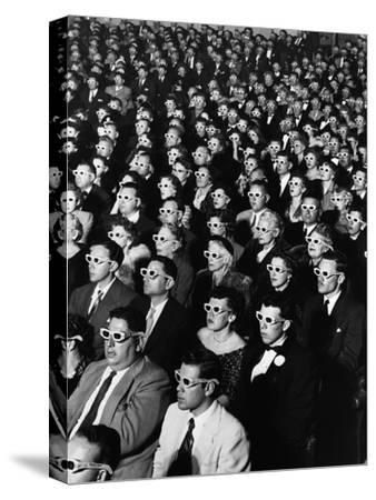 """Opening Night Screening of First Color 3-D Movie """"Bwana Devil,"""" Paramount Theater, Hollywood, CA"""