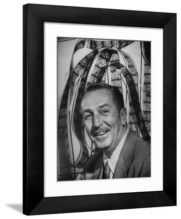 Portrait of Walt Disney, of Walt Disney Studios