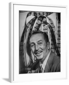 Portrait of Walt Disney, of Walt Disney Studios by J. R. Eyerman