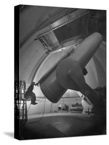 William Miller at the Mt. Palomar Observatory by J^ R^ Eyerman