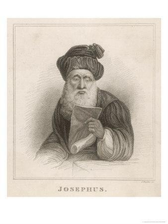 Flavius Josephus Originally Joseph Ben Matthias Jewish Historian