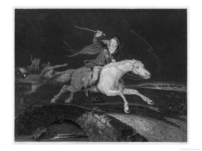 Tam O'Shanter, He Rides with the Devil Behind Him