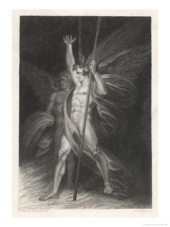Two Eminent Devils, Satan and Beelzebub as They are Described by Milton in Paradise Lost