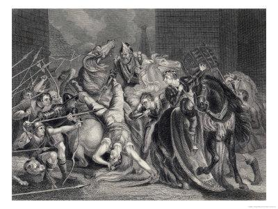 Wat Tyler is Killed by Sir William Walworth