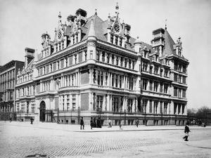 Exterior View of Cornelius Vanderbilt Ii Residence by J.S. Johnston