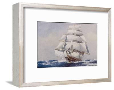 Clipper Under Full Sail