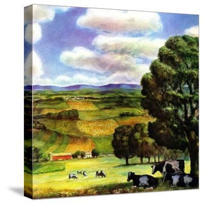 """""""Farm Landscape,""""April 1, 1942"""