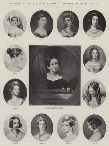 Portraits of the Late Queen Victoria at Different Periods of Her Life by J. Stewart