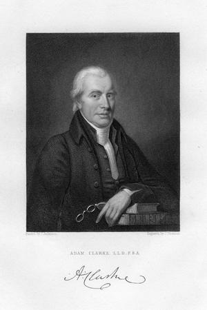 Adam Clarke (C1760-183), British Methodist Theologian and Biblical Scholar, 19th Century