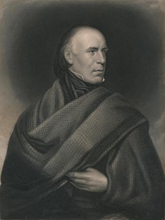 Allan Cunningham (1784-1842), Scottish poet and author, 1840