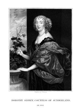 Dorothy Spencer, Countess of Sunderland