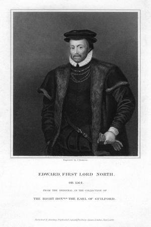 Edward North, 1st Lord North, 1825