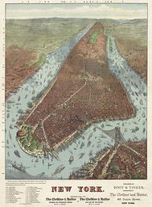 Map of Manhattan, 1879 by J^W^ Williams
