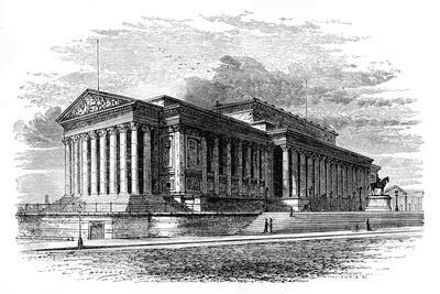 St George's Hall, Liverpool, C1888