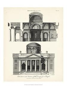 Design for a Chapel by J. Wilkes