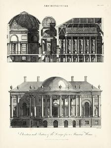 Design for a Mansion by J. Wilkes