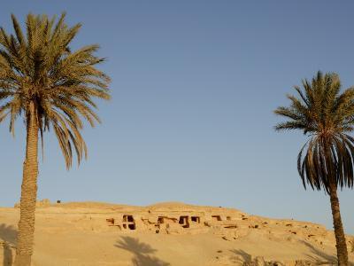 Jabal El Mawta, Oasis of Siwa, Egypt, North Africa, Africa-Groenendijk Peter-Photographic Print