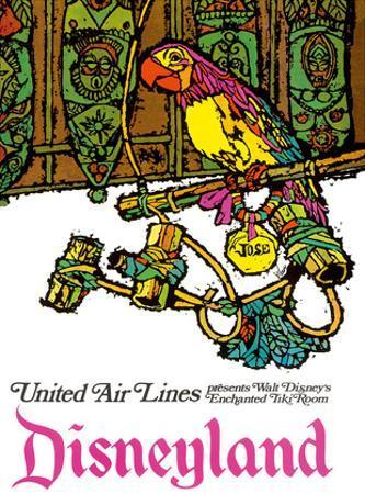 Disneyland - Walt Disney's Enchanted Tiki Room - United Air Lines