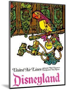 Disneyland - Walt Disney's Enchanted Tiki Room - United Air Lines by Jabavy