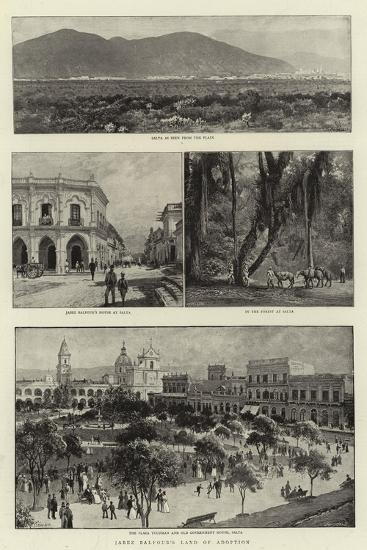 Jabez Balfour's Land of Adoption-Charles Joseph Staniland-Giclee Print