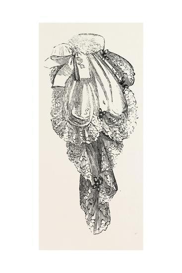 Jabot Necktie, Fashion, 1882--Giclee Print