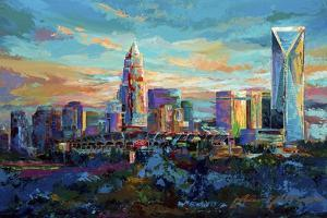 The Queen City Charlotte North Carolina by Jace D. McTier