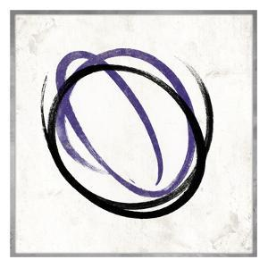 Abstract circle purple by Jace Grey