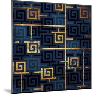 Blue Gold Keys by Jace Grey