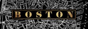 Boston St Map by Jace Grey